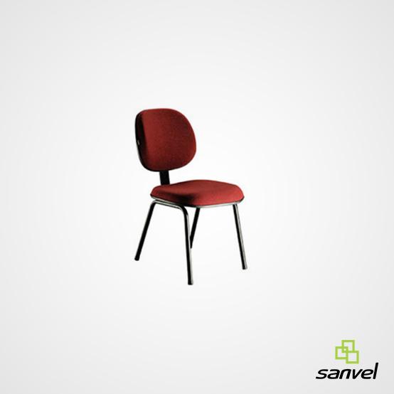 Cadeira Executiva sem Lâmina 04 Pés