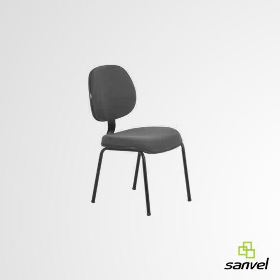 Cadeira Executiva com Lâmina 04 Pés